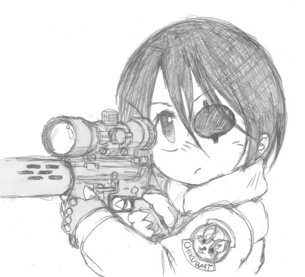 狙撃上手のサイトーさん