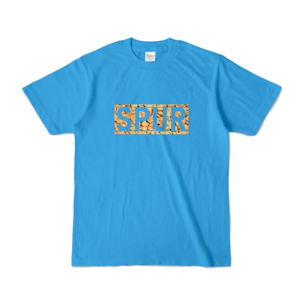 Tシャツ ターコイズ SPUR_Coffee