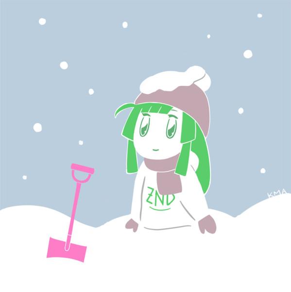 大雪とずん子さん