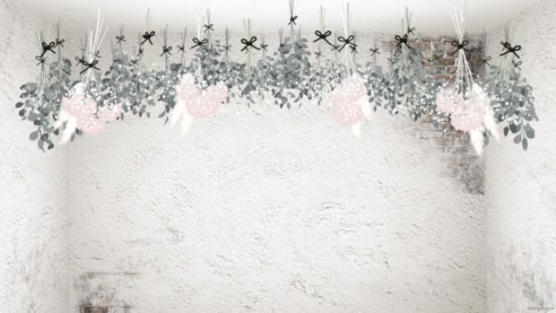 ドライフラワーの花束_紫陽花