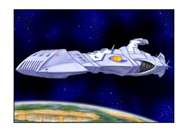 ガミラス ドメル艦改修前ガミラス星