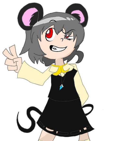 カートゥーン調ネズミ