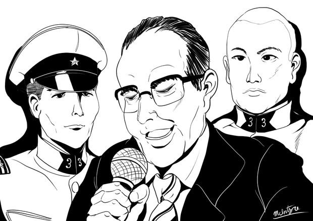 傍受された通話音声~帝國陸軍歩兵第三連隊上村盛満軍曹と高橋丑太郎中尉