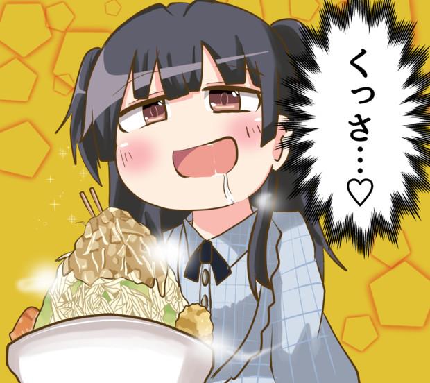 ラーメンを食べに来た冬優子