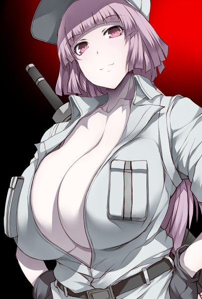 白血球♀後輩ちゃん(ピンク)