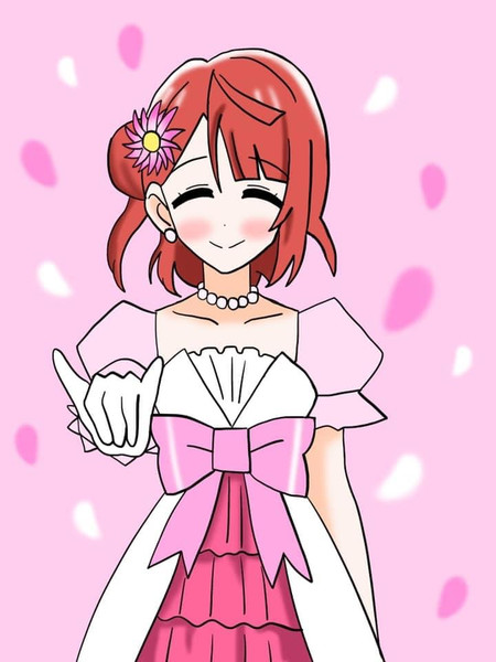 3月1日は虹ヶ咲の上原 歩夢ちゃんの誕生日