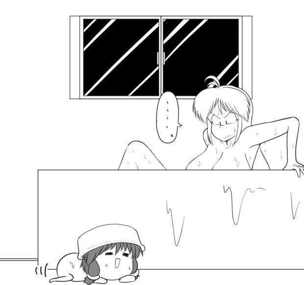 お風呂戦線
