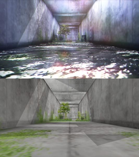 排水路ステージ【配布】