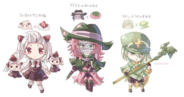 和菓子×NieR_Reincarnation