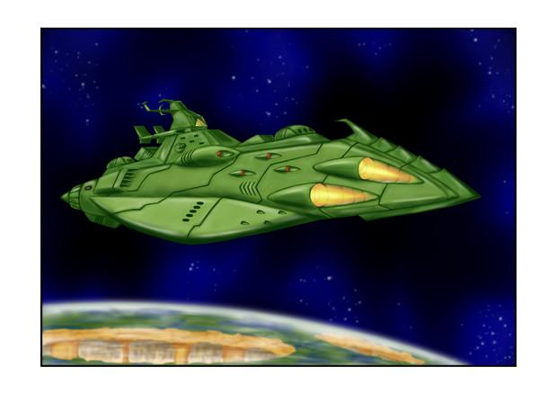 ガミラス高速巡洋艦ガミラス星