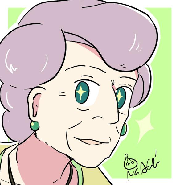 魔女の宅急便の老婦人