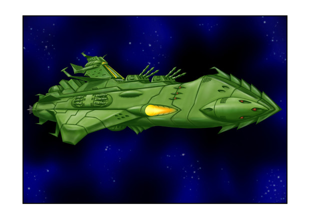 ガミラス巡洋戦艦