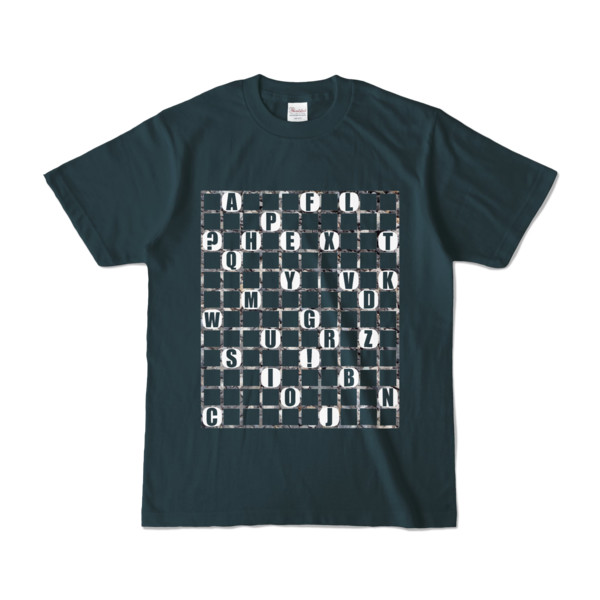 Tシャツ   デニム   ALPHABET_GRAVEL