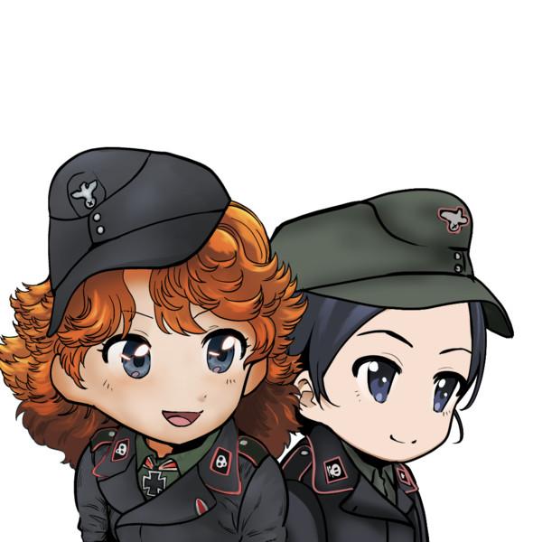 WoT ゆっくり実況で使ったキャラ絵 ドイツ兵衣装