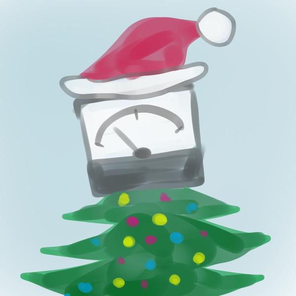 善本琢路のクリスマス計器