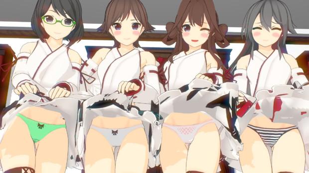 四姉妹のパンツ事情