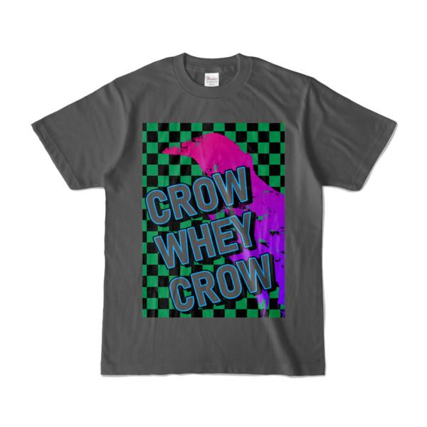 Tシャツ | チャコール | CROW_WHEY_CROW