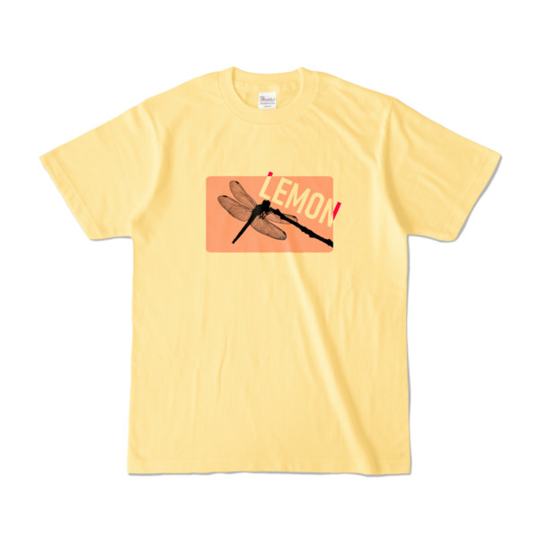 Tシャツ | ライトイエロー | Dragonfly_LEMON