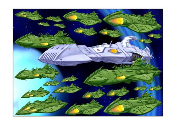 ドメル艦隊通常編成小マゼラン惑星