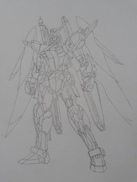 ZGMF-X42Sデスティニーガンダム