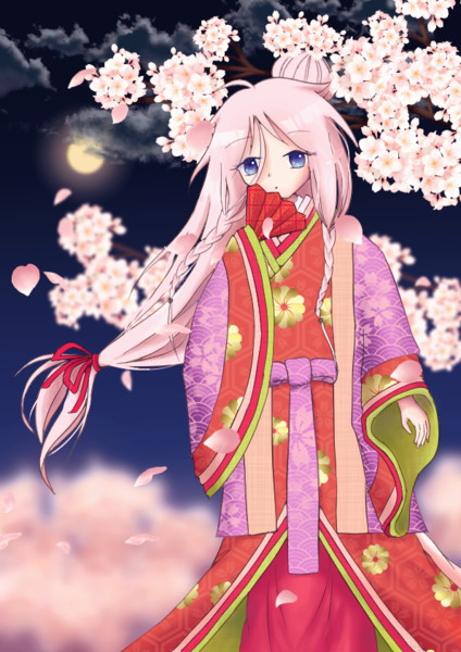 夜桜のIA