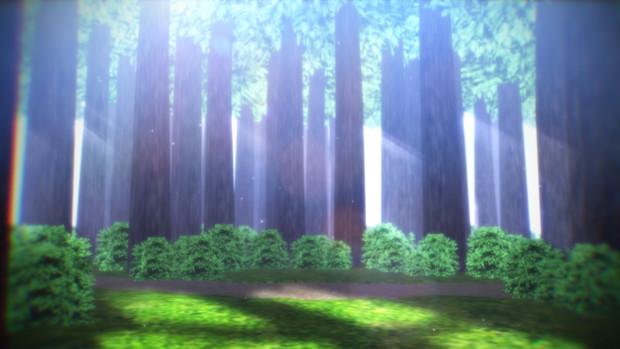 小さな森ステージ【ステージ配布】