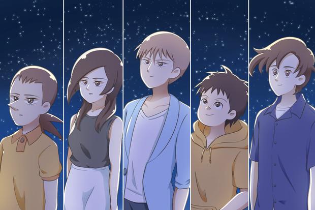 星を見る元べフォールの子供達
