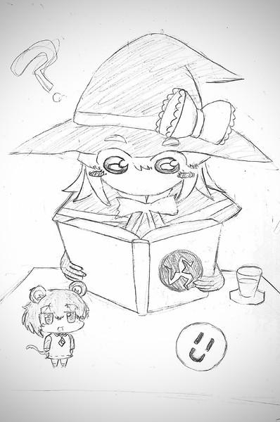 本を読むMGR姉貴