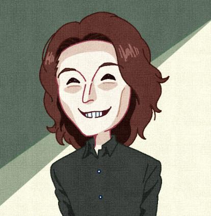 顔が変な人.illust