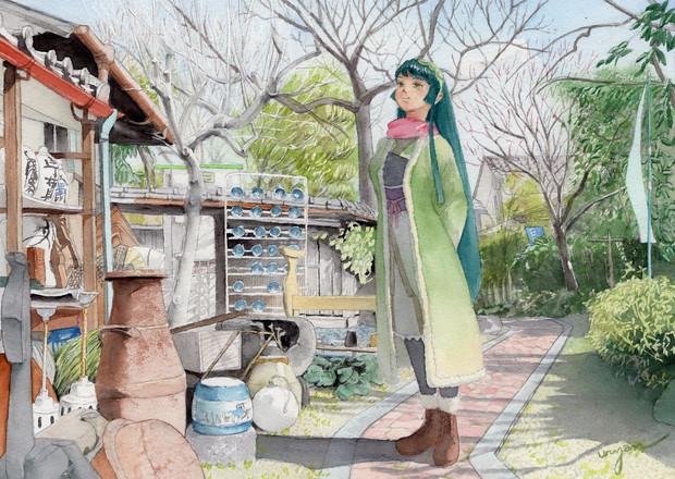 「壽丸屋敷にて」東北ずん子