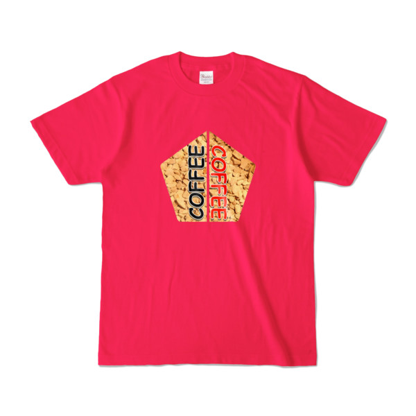 Tシャツ | ホットピンク | 五角☆互角COFFEE