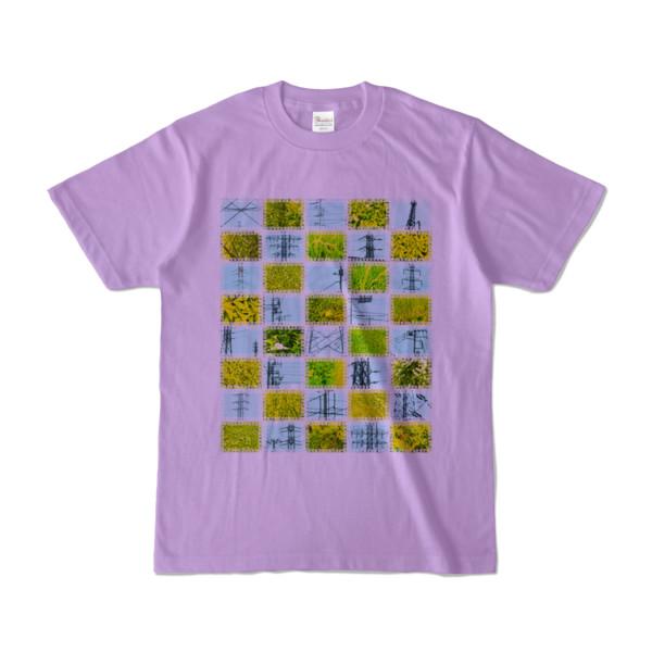Tシャツ | ライトパープル | Steel20_and_Grass20