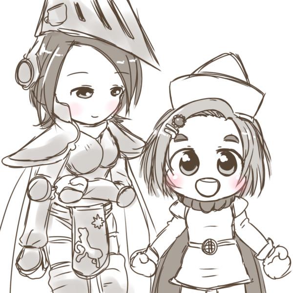 元気な姫と凛々しい騎士