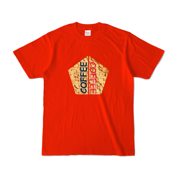 Tシャツ | レッド | 五角☆互角COFFEE