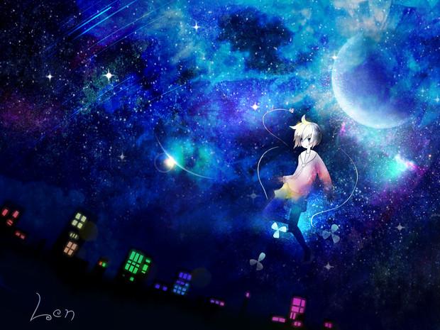 魔法使いと夜空