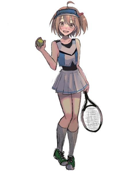 テニスしよ〜