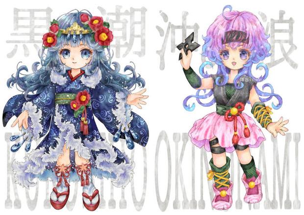 伊豆大島椿列伝椿キャラクター