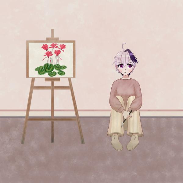 イーゼルflowerちゃん