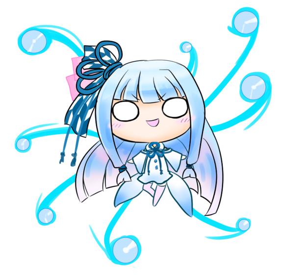 雪の妖精葵ちゃ