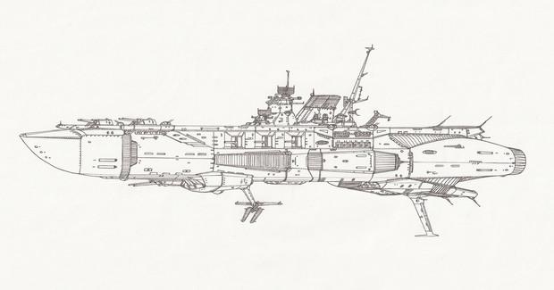 ヴェーザー級攻撃空母「自作艦」
