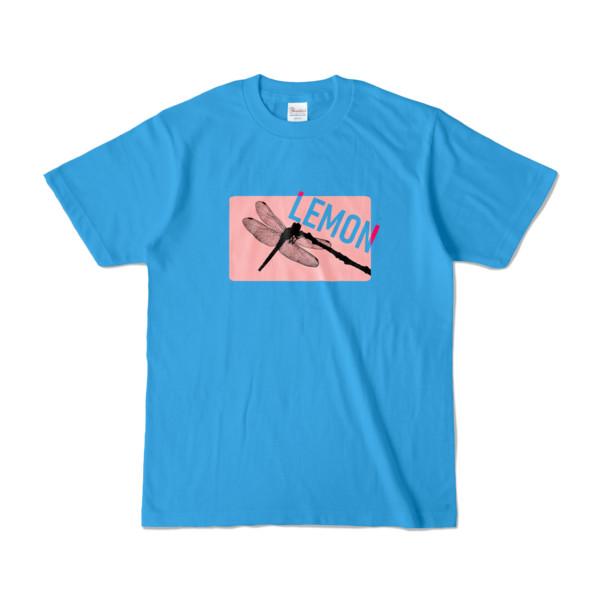 Tシャツ | ターコイズ | Dragonfly_LEMON