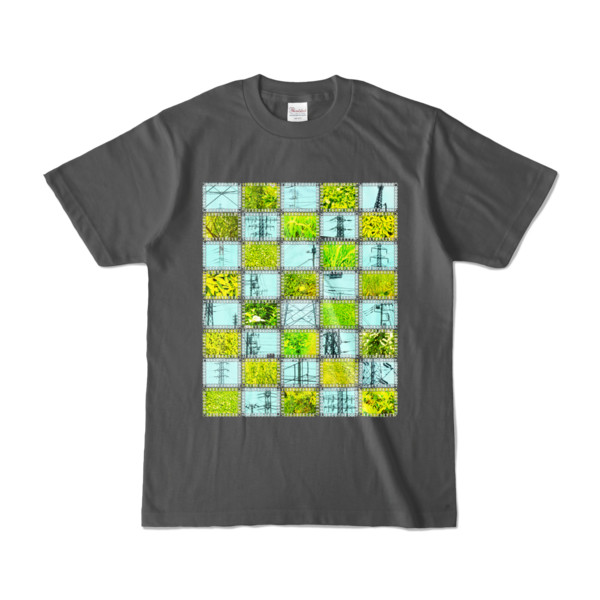 Tシャツ | チャコール | Steel20_and_Grass20