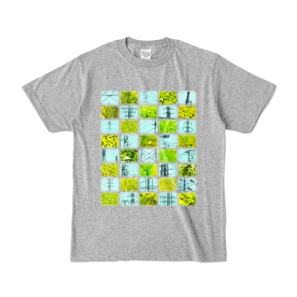Tシャツ   杢グレー   Steel20_and_Grass20