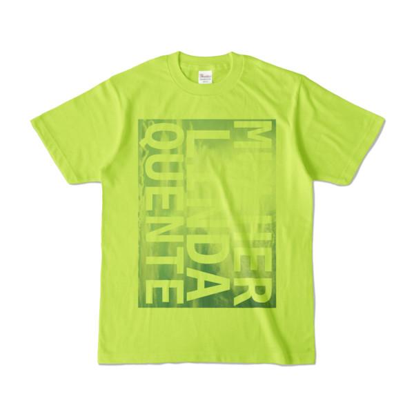 Tシャツ   ライトグリーン   M☆L☆Q_Sky
