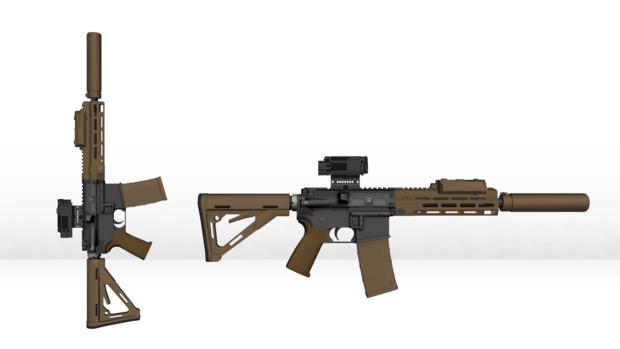 M4A1 USASOC I