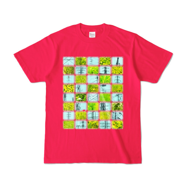 Tシャツ | ホットピンク | Steel20_and_Grass20