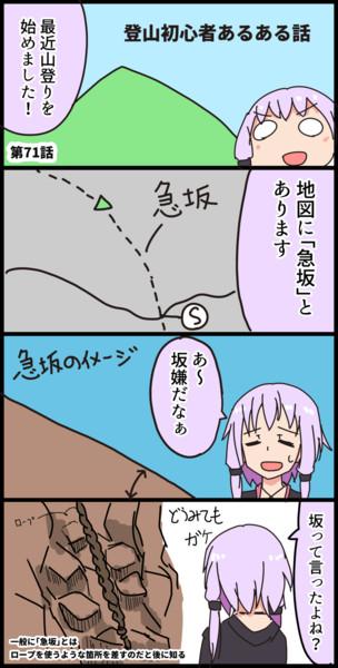 毎日ボイロ漫画71【VOICEROID】