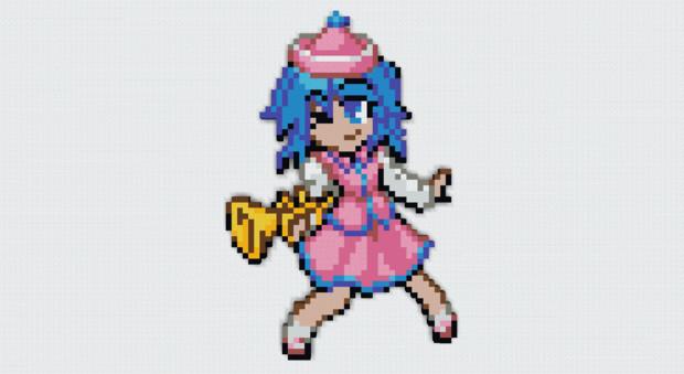 [minecraft 1.16.5]キャラのみ No.101 メルラン[東方人形劇]