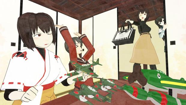 【RAY-GO静画祭Vol.7】艦娘の休日【MMD艦これ】