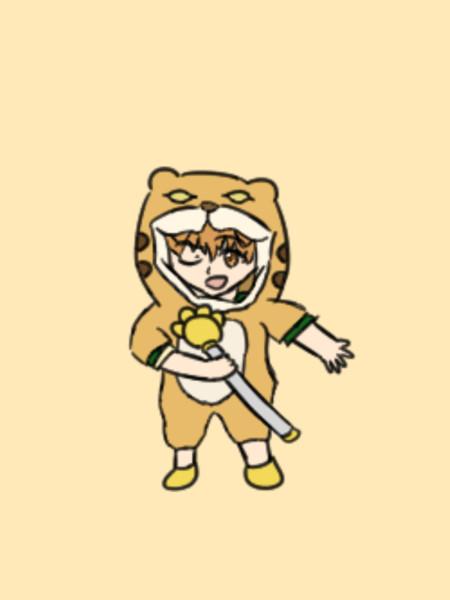 【FGO】元気いっぱいジャガーマン【イラスト】